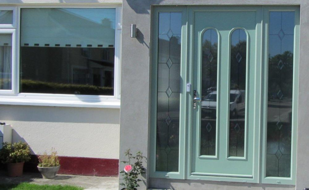 Composite front door in Cork by Palladio
